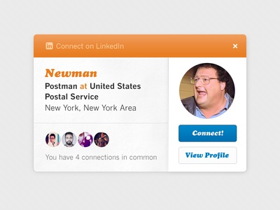 Connect with Newman