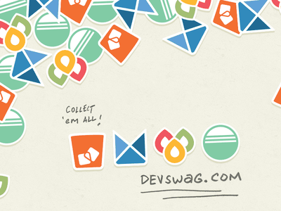 DevSwag Has Your Bourbon Swag thoughtbot bitters sass neat bourbon swag stickers