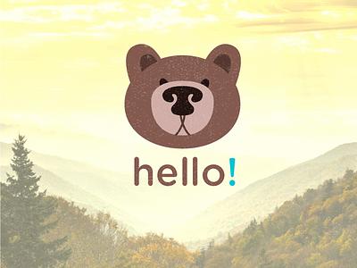 Mr Bear friendly kiddy-style bear