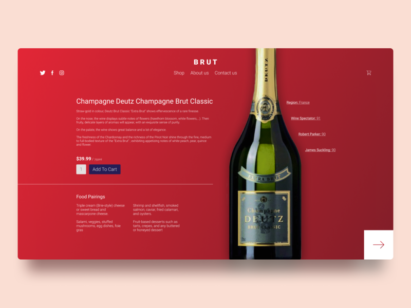 Brut - Product Card