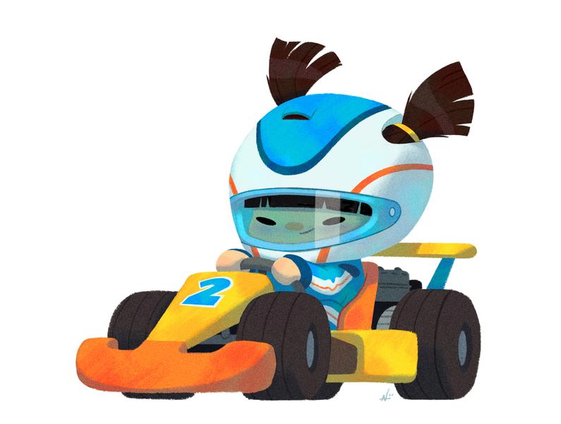 Baby Us: Racer Girl