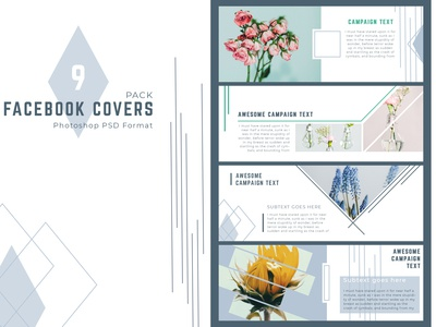 Facebook Cover Templates Pack
