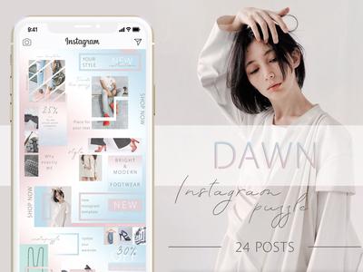 DAWN - Instagram Puzzle