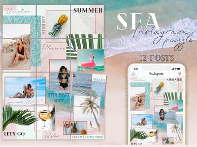 SEA - Instagram Puzzle