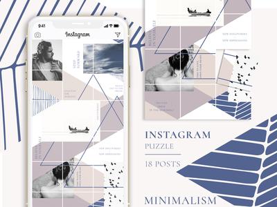 MINIMALISM - Instagram Puzzle