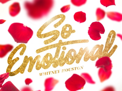 So Emotional font type letter graphic graphic design music script lettering typography illustration