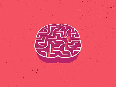 Brain Maze 2 illustrator illustration