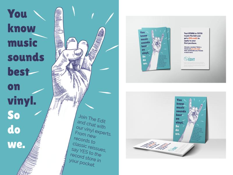 The Edit Packaging Promo Insert illustrator cc illustrator design illustration