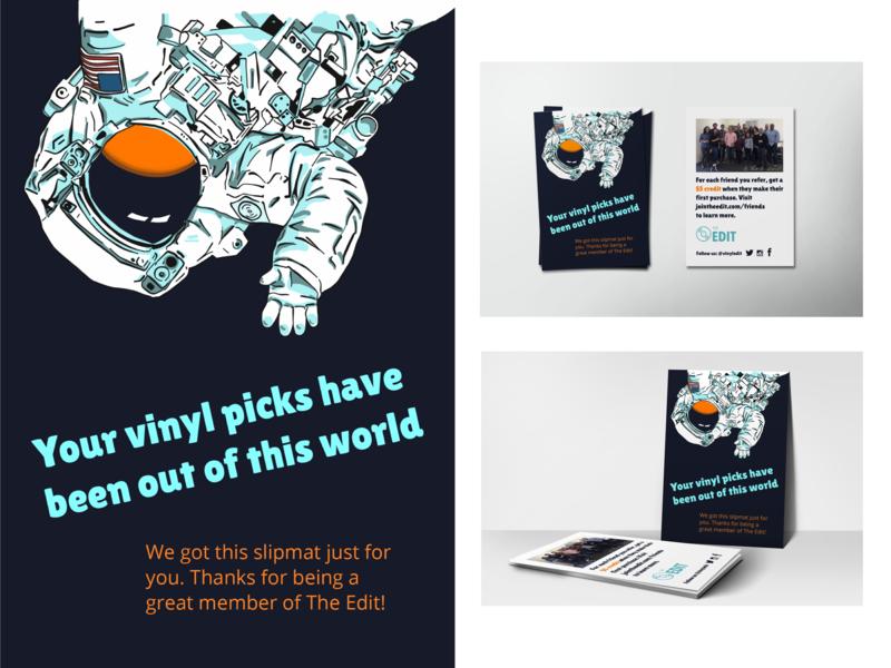 The Edit Gift Insert design illustrator cc illustrator illustration