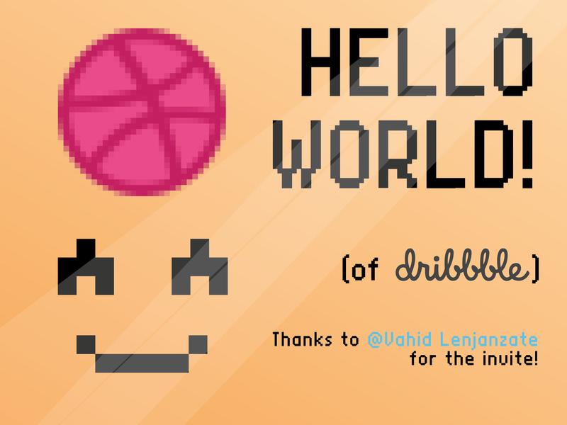 Hello World! world hello debut shot