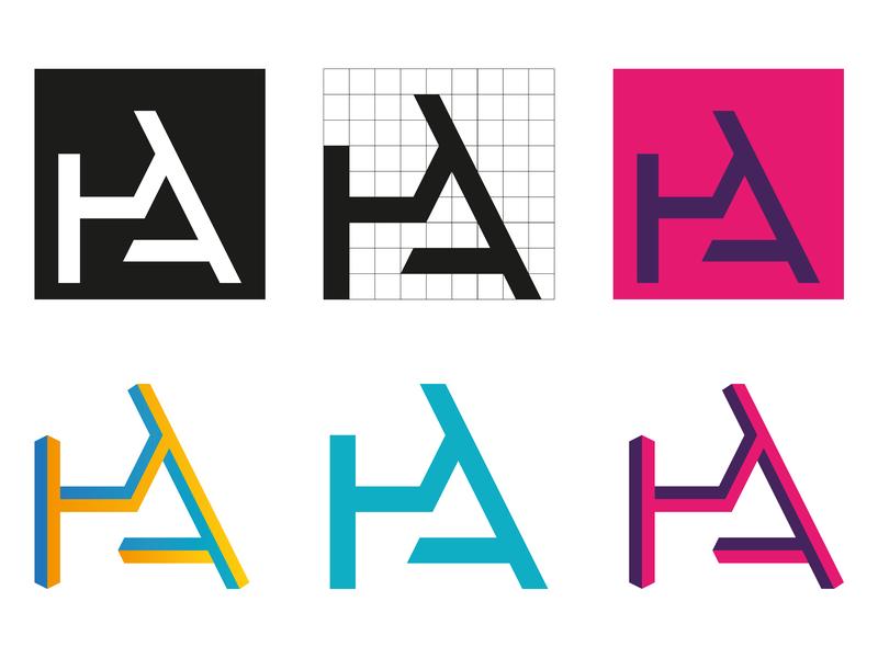 PA Monogram p a letter p letter a selfbranding lettermark monogram logo branding
