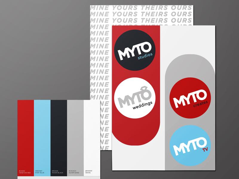 MYTO  Brand logo brand design branding illustration