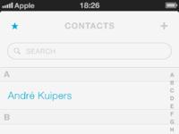 Realpixels contacts favorites