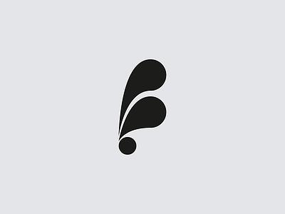 F mark brand logo letterform