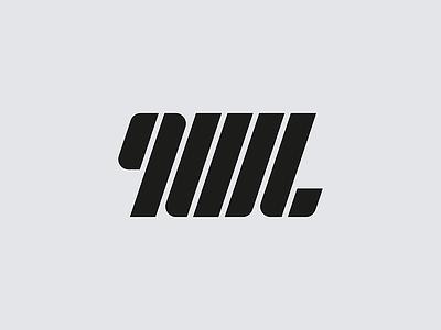 9WL mark brand logo letterform