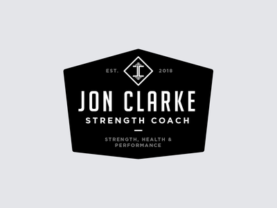 JC Strength Coach sports badge logo