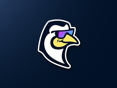 Natty Ice Mascot Logo sports esports streamer twitch penguin brand logo mascot