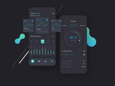 Smart Home Mobile UI