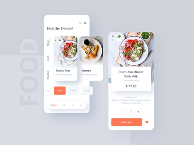 Food Mobile UI