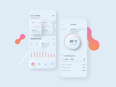Smart Home Mobile UI