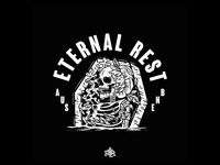 Design i did for ETERNAL REST, australian deathmetal