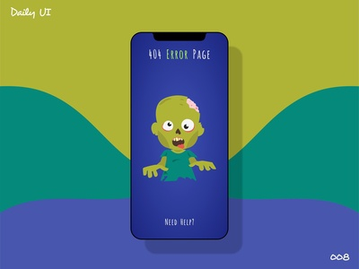 404 Page - Daily Ui - 008