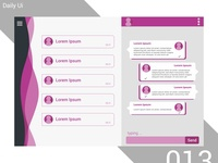 Direct Messaging - Daily Ui - 013