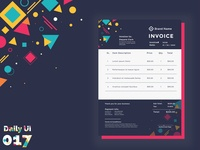 Email Receipt - Daily Ui - 017