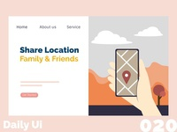 Location Sharing - Daily Ui - 020