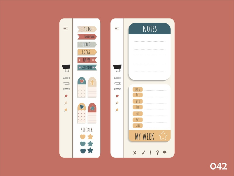 ToDo List - Daily Ui - 042 todo app todolist dailyui042 app ux ui illustration dribbble vector design dailyuichallange dailyui