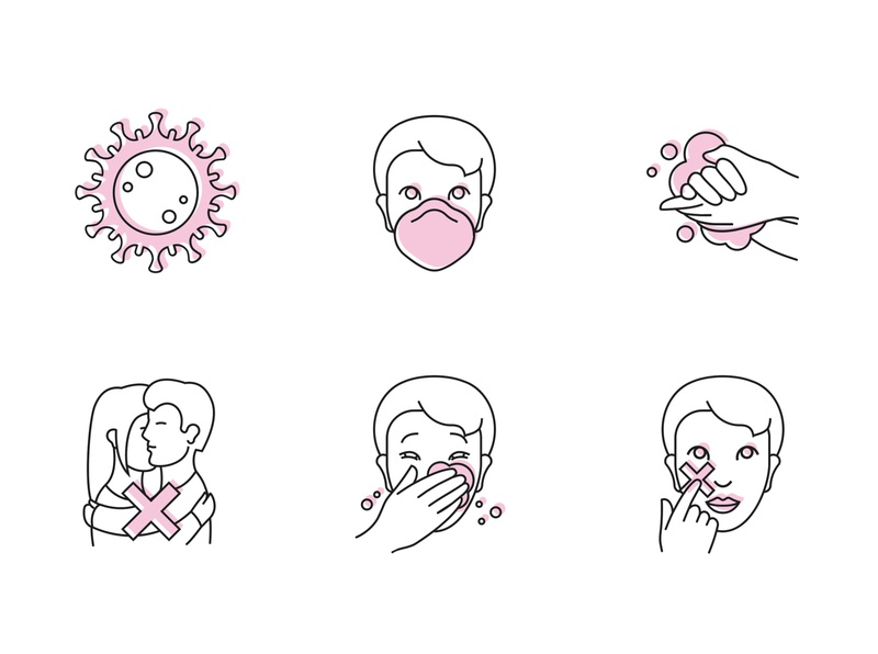 Free Icon set COVID-19 corona coronavirus download covid-19 covid19 free icon set icons