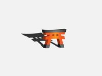 Fushimi Inari 3D effect