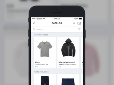 Expert Shopper iOS Experience