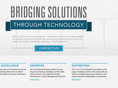 Advantech Solutions web it recruiting bridge flag home