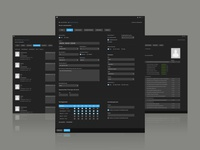 UI for backend user administration