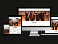 typo3.org Responsive Relaunch Contest Layout