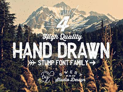 Stump Free Font font typeface stump vintage vintage font great font awesome font premuim font retro