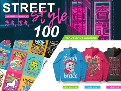 100 street style t-shirt designs