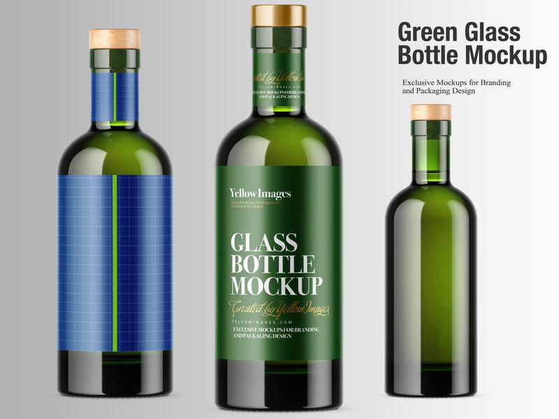 Download Wine Label Mockup Illustrator Download Free And Premium Quality Psd Mockup Templates PSD Mockup Templates