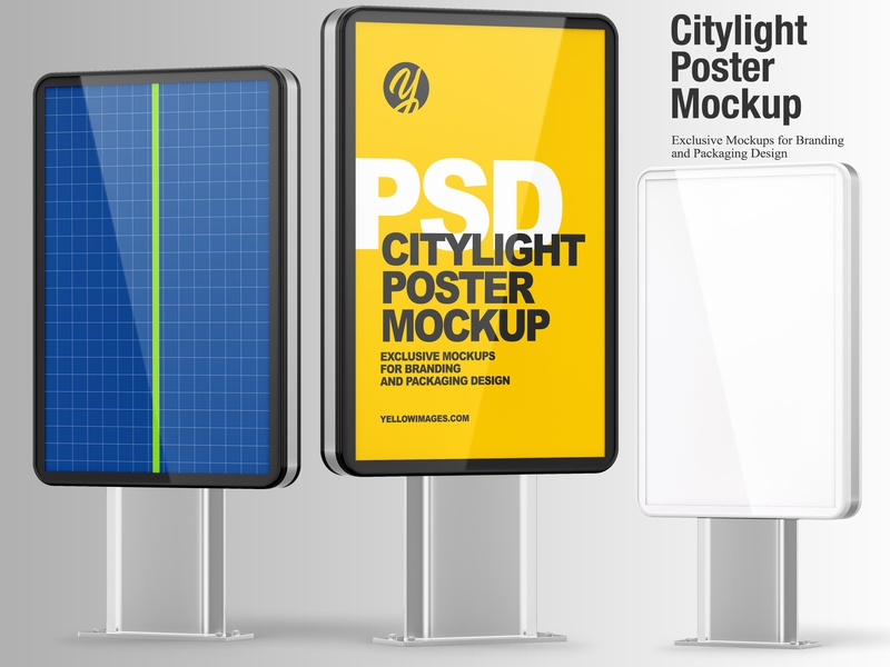Citylight Poster Mockup citylight poster poster advertisement commercial publicity billboard mockup billboard design billboard branding citylight design mockup tools mock-up mockup
