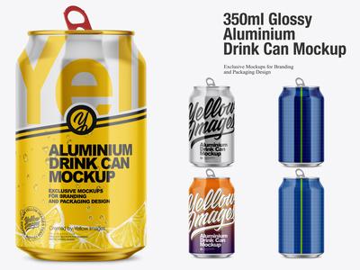 350 Aluminium Can