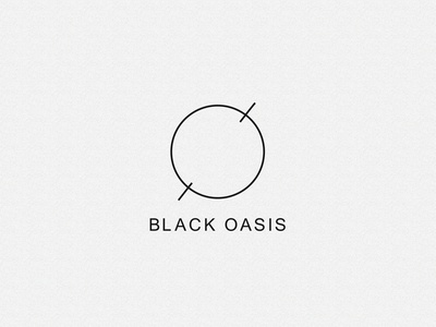 Black Oasis - logo design