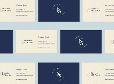 Neegan Sioui - Business Card