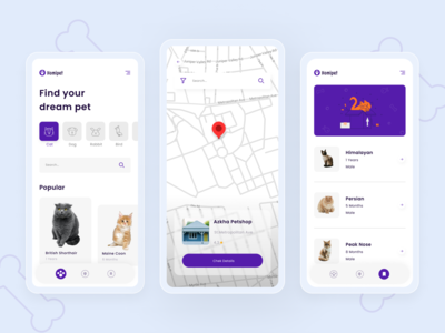 Homipet App adobe illustrator figma minimalist petshop typography illustration logo branding app design icon ui design