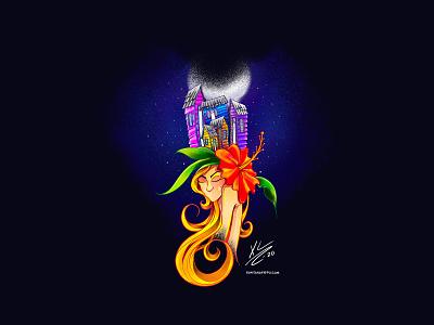 Media Noche nature lifestyle caribbean digitalart illustrations procreate