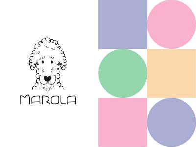 Marola Pets graphicdesign brand identity logodesigner dogs pets logodesinger logo logodesigns