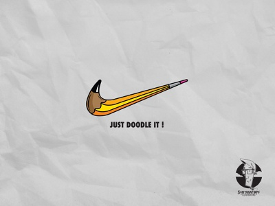 Just Doodle it! drawing vector illustration adobe illustrator draw logo graphic design doodle illustration