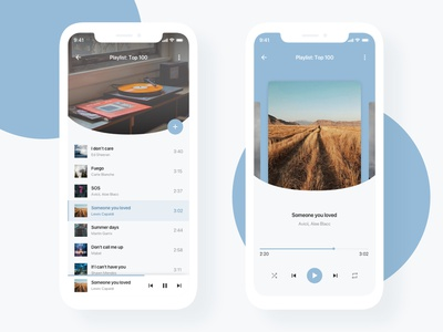 Music Player ux uiux ui songs sound player music mobile app design dailyuichallenge dailyui