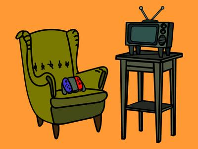Chair Nintendo