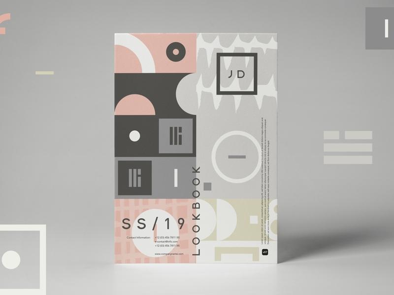 Esthetic Geometry design minimal patterns pattern design visual identity visual design vector textured packaging design illustration branding art brand identity brand design abstract